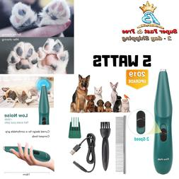 Dog Clippers Washable 2 in 1 Dog Grooming Kit Double Blades