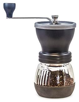 Khaw-Fee HG1B Manual Coffee Grinder with Conical Ceramic Bur