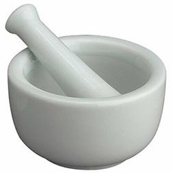 HIC Mortar and Pestle Spice Herb Grinder Pill Crusher Set, F