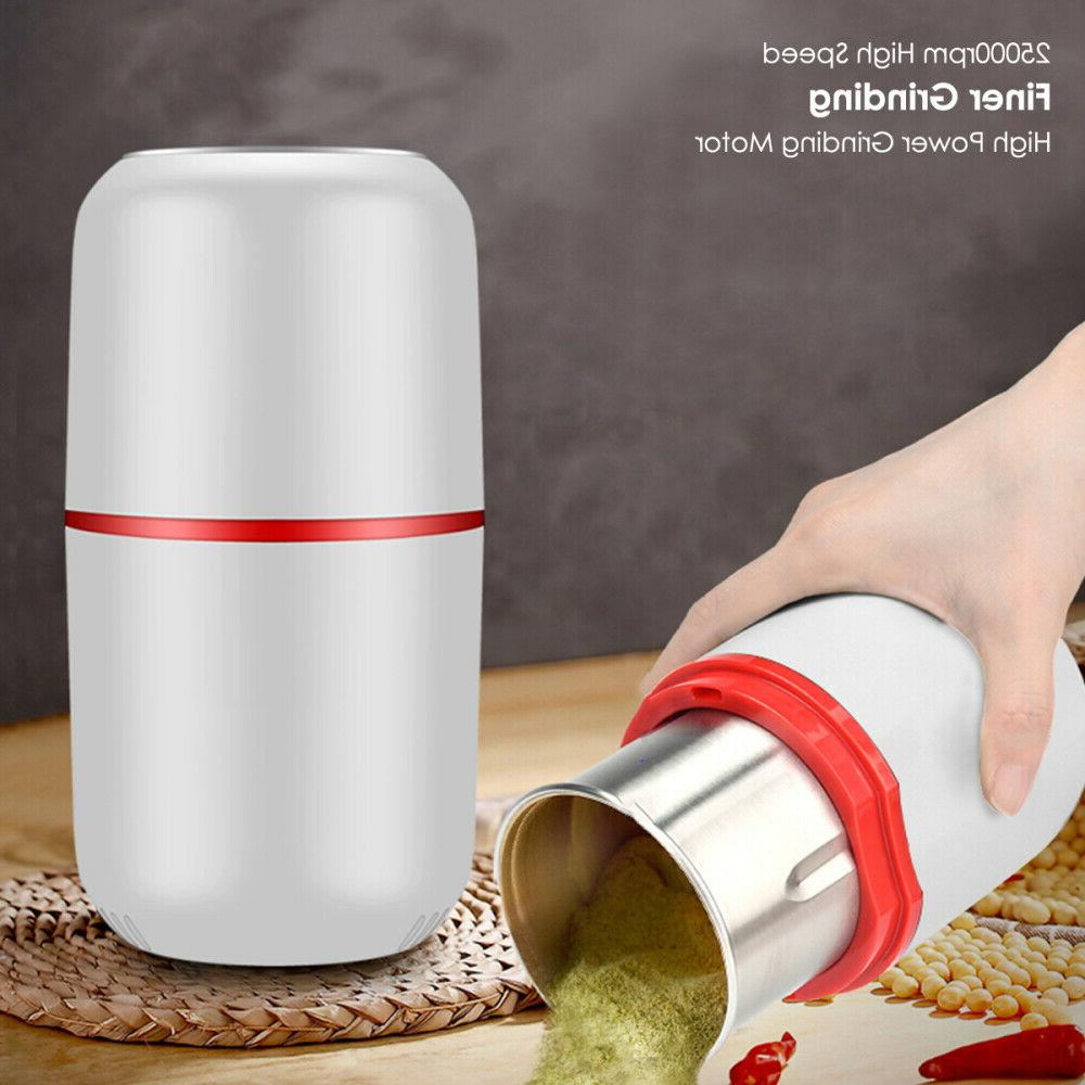 150W Electric Bean Grinder Herbs Spices Nuts