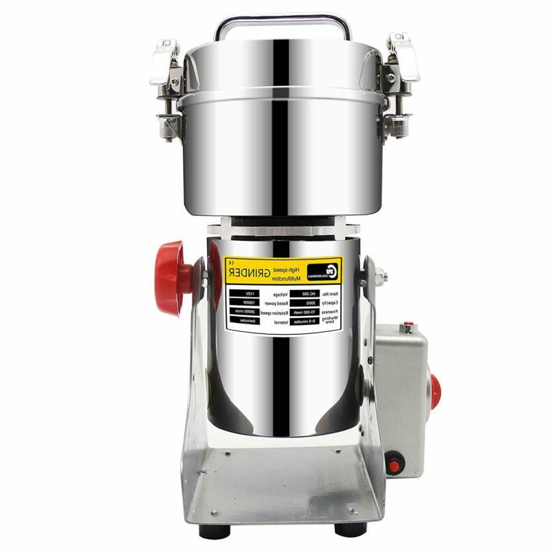 CGOLDENWALL 300g Stainless Steel Electric high-Speed Mill