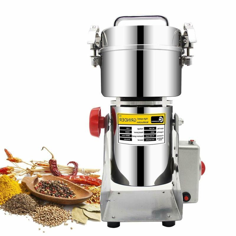 300g stainless steel electric high speed grain