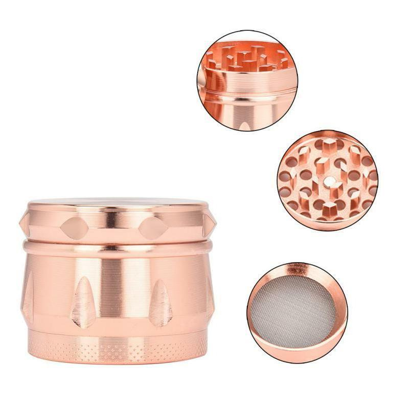 4 layer 40mm metal herb and spice
