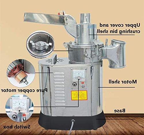 CGOLDENWALL 40kg/h 2200W Automatic Floor-standing Grinder for Soybean