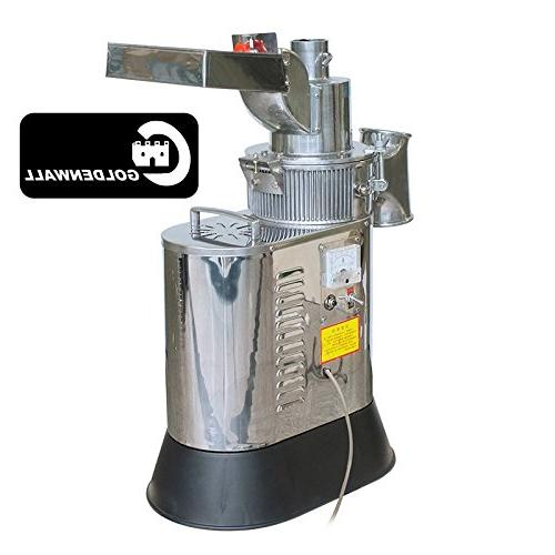 CGOLDENWALL 40kg/h 2200W Floor-standing Continuous Hammer Soybean Herb 110V/220V