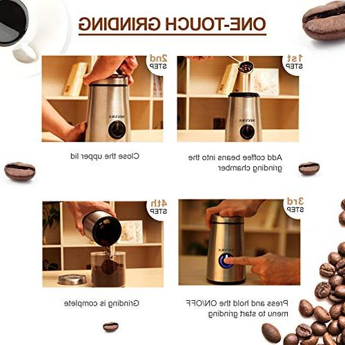 Secura Electric Coffee and Spice Grinder Blades
