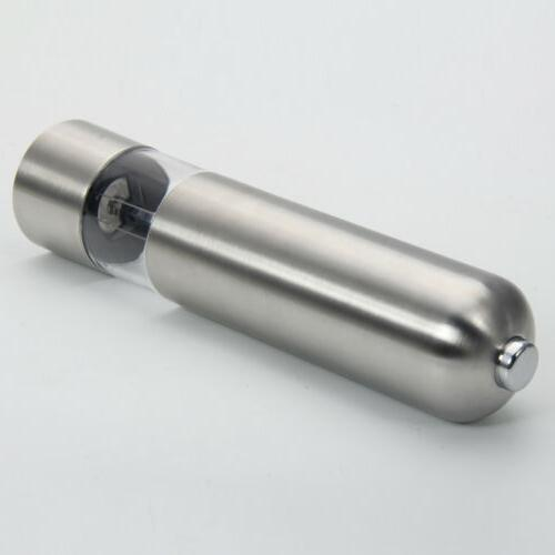 Electric Stainless Tool Salt Grinder Automatic Mill