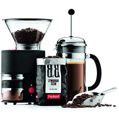 Bistro Coffee With Continuously Adjustable Grind,
