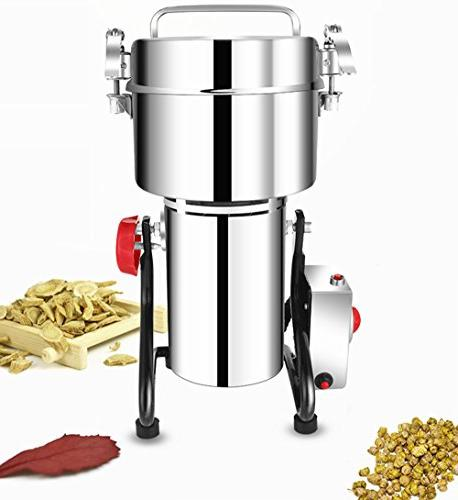 Bracket type 1000g Stainless steel grain Cereal Grain grinder pulverizer for mom,