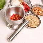 Bekith Brushed Stainless Steel Mortar and Pestle / Spice Gri
