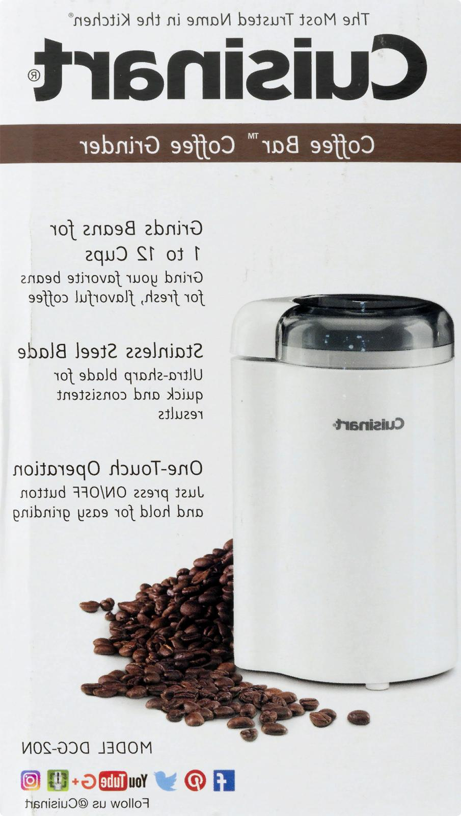 Cuisinart Coffee Bar Grinder Coffee Nuts