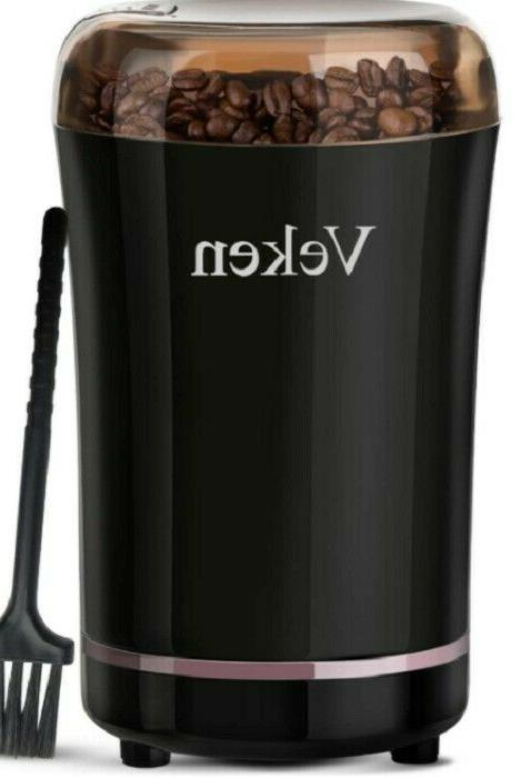 coffee bean grinder electric spice stainless steel