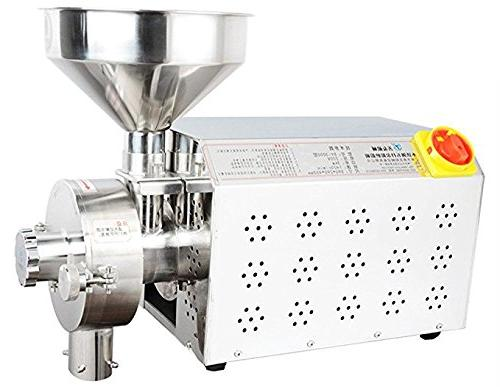 commercial stainless steel grain grinder