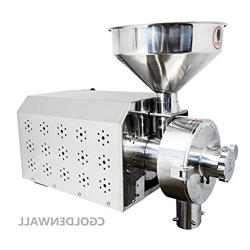 Commercial Spice and Chinese Industrial Grain Mill Grain Grinding Machine 15-50kg/h
