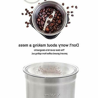 Electric Grinders Coffee &amp Spice Spices With 2.5 Ounce