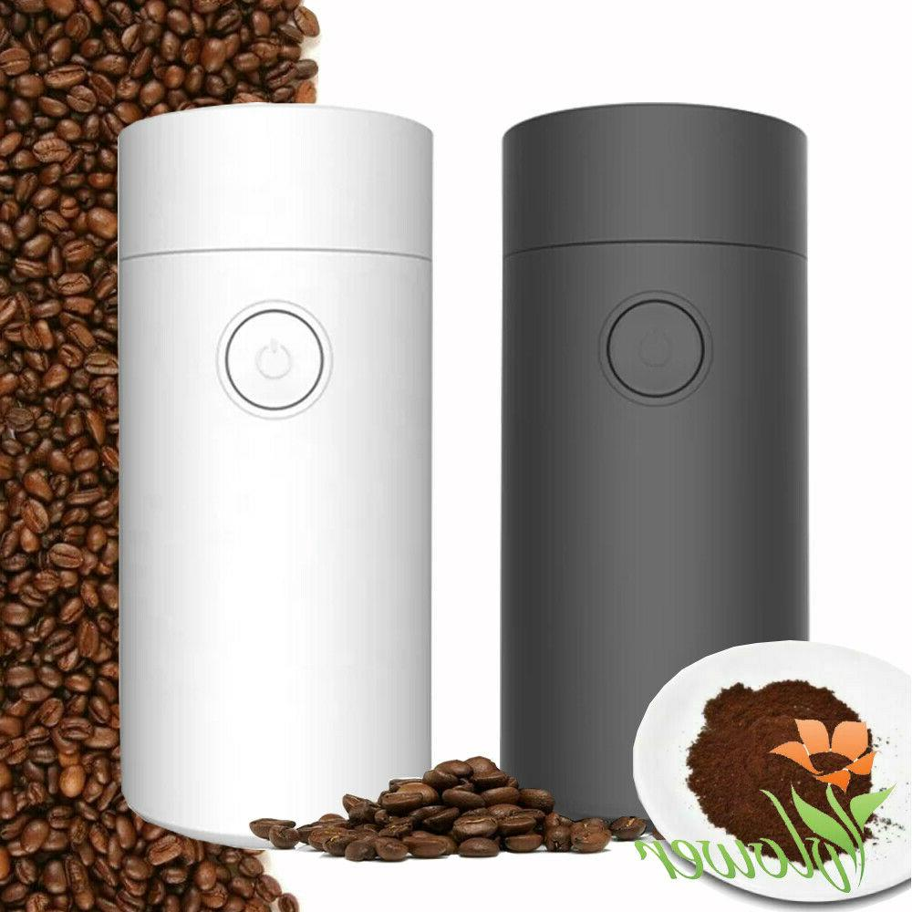 electric coffee bean grinder and spice grinder
