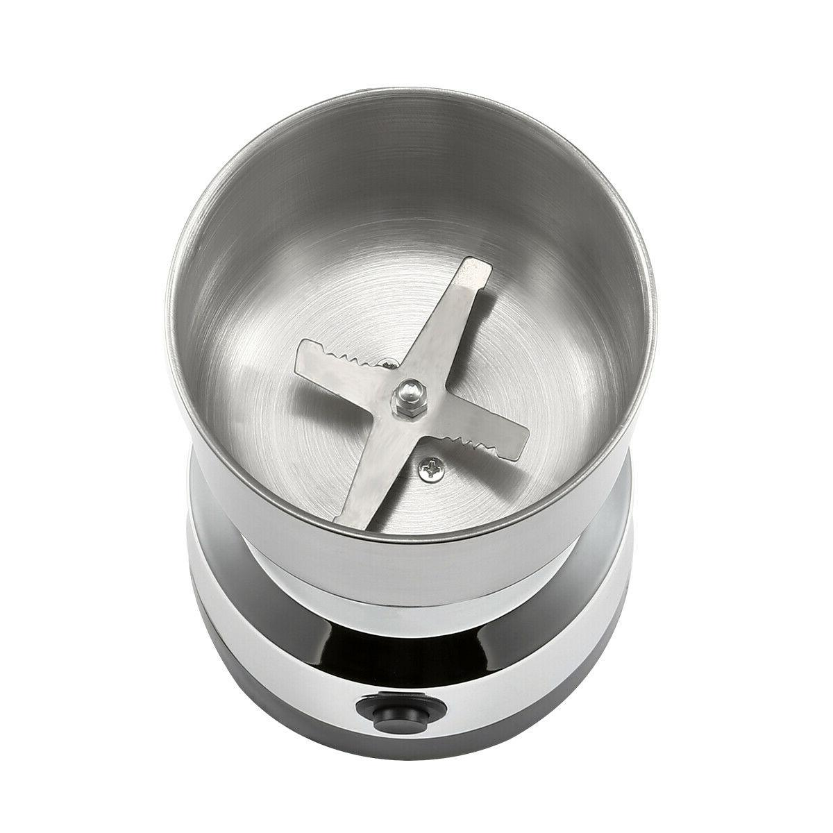 Electric Bean Grinder Nut Seed Spice Mill USA