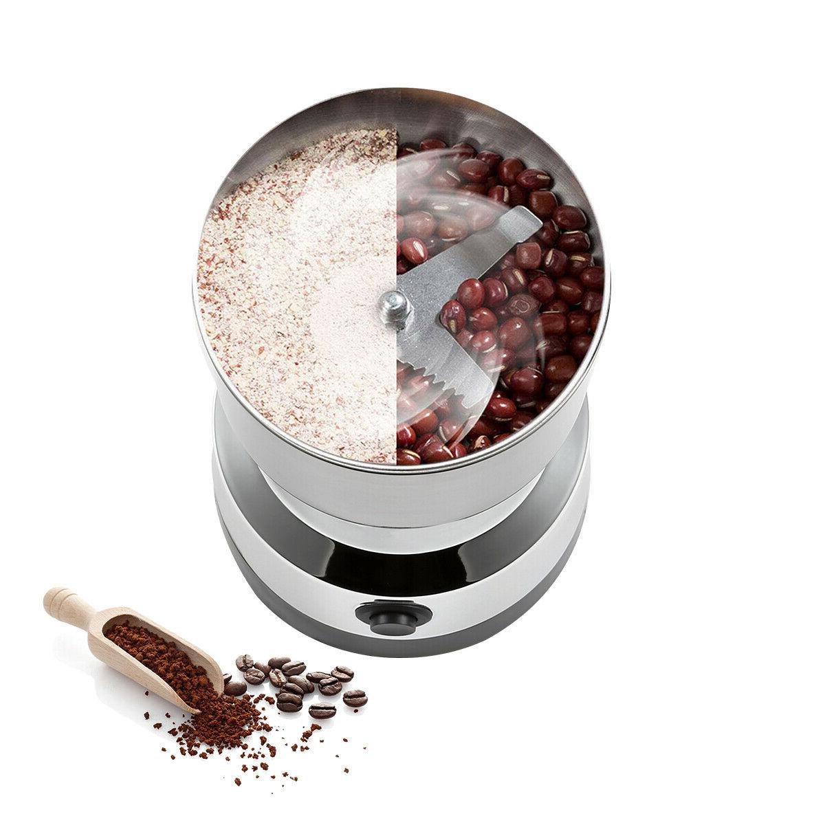Electric Coffee Grinder Nut Seed Spice Mill Blender USA