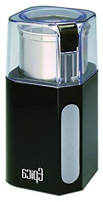 Epica Electric Coffee Grinder & Spice Grinder -Stainless Ste