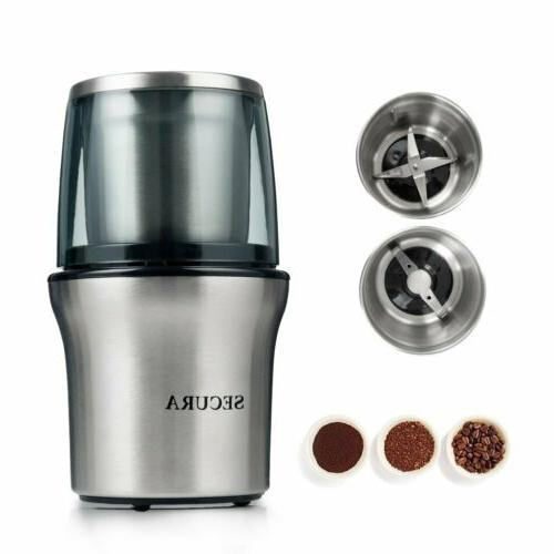 Secura Electric Grinder & Spice 2