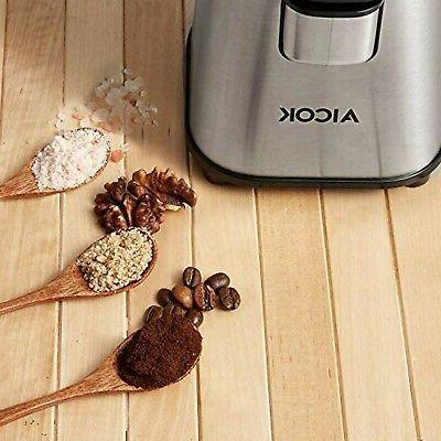 AICOK Electric Coffee Grinder Fast Fine Fineness R