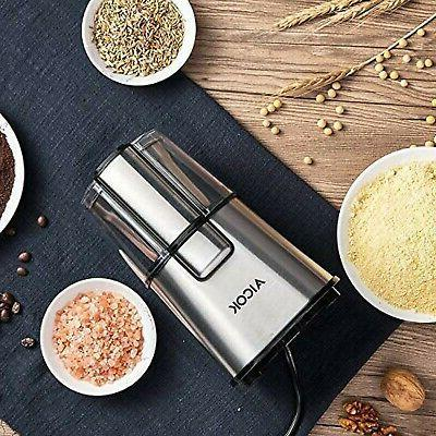 AICOK Electric Coffee Grinder Fast Fineness Coffee Grinder