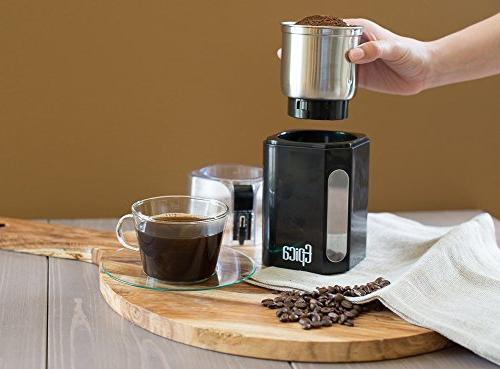 Epica Coffee Grinder & Spice Grinder -Stainless Steel Grinding for Easy the Market and Most Efficient …