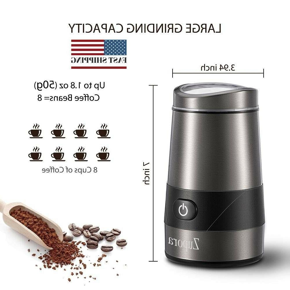 Electric Grinder, Spice and Stainless Steel