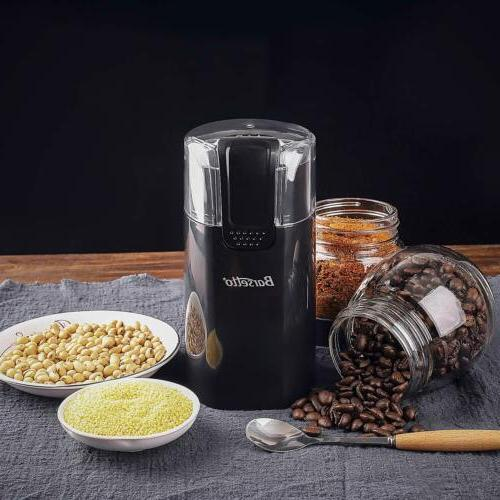 Barsetto Electric Coffee Spice Stainless Steel Blades 150W