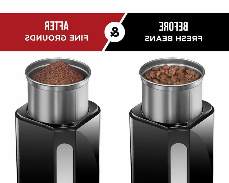Electric with Stainless Steel Beans Spices Nuts Grains