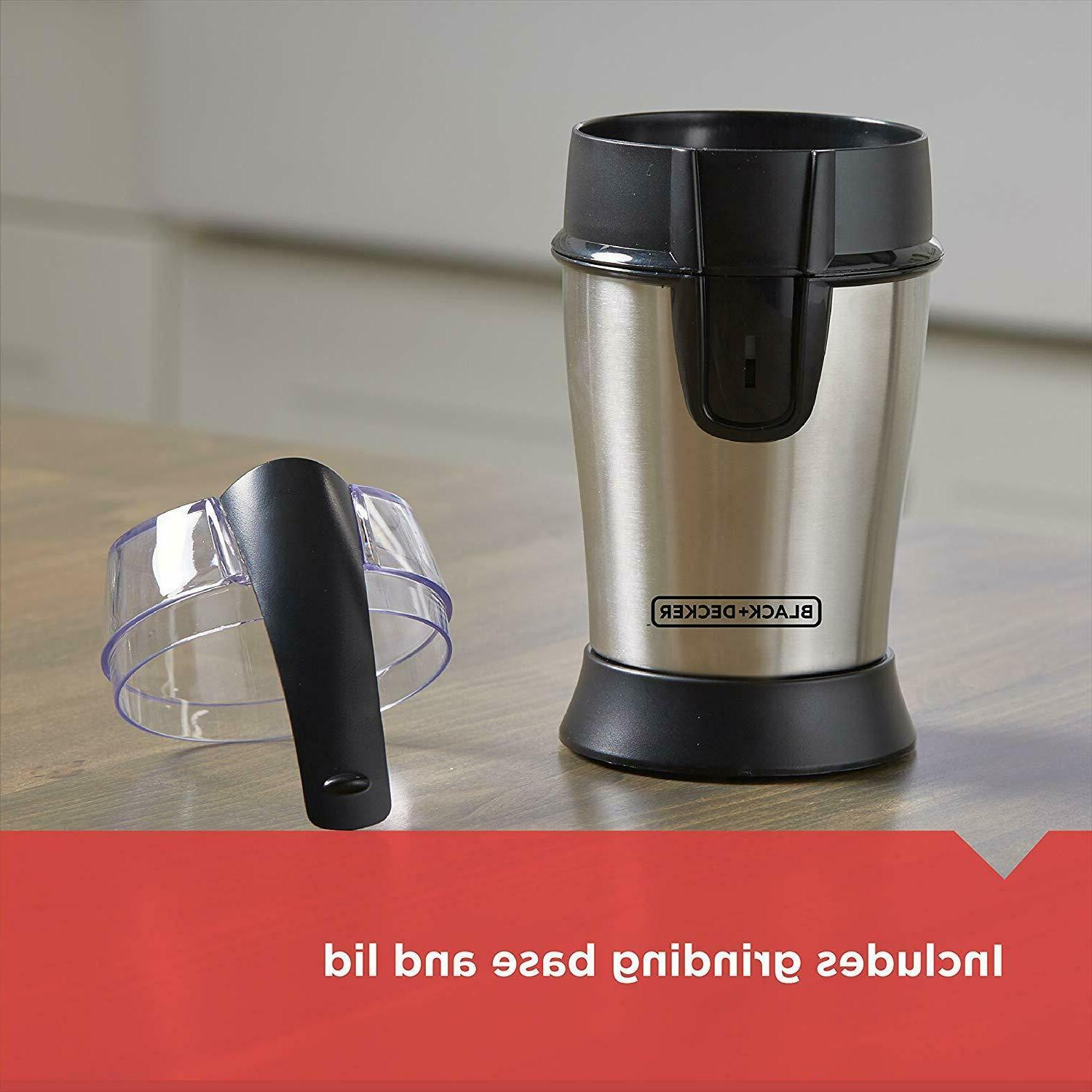 Electric Herb Coffee Stainless Blades Nuts Machine