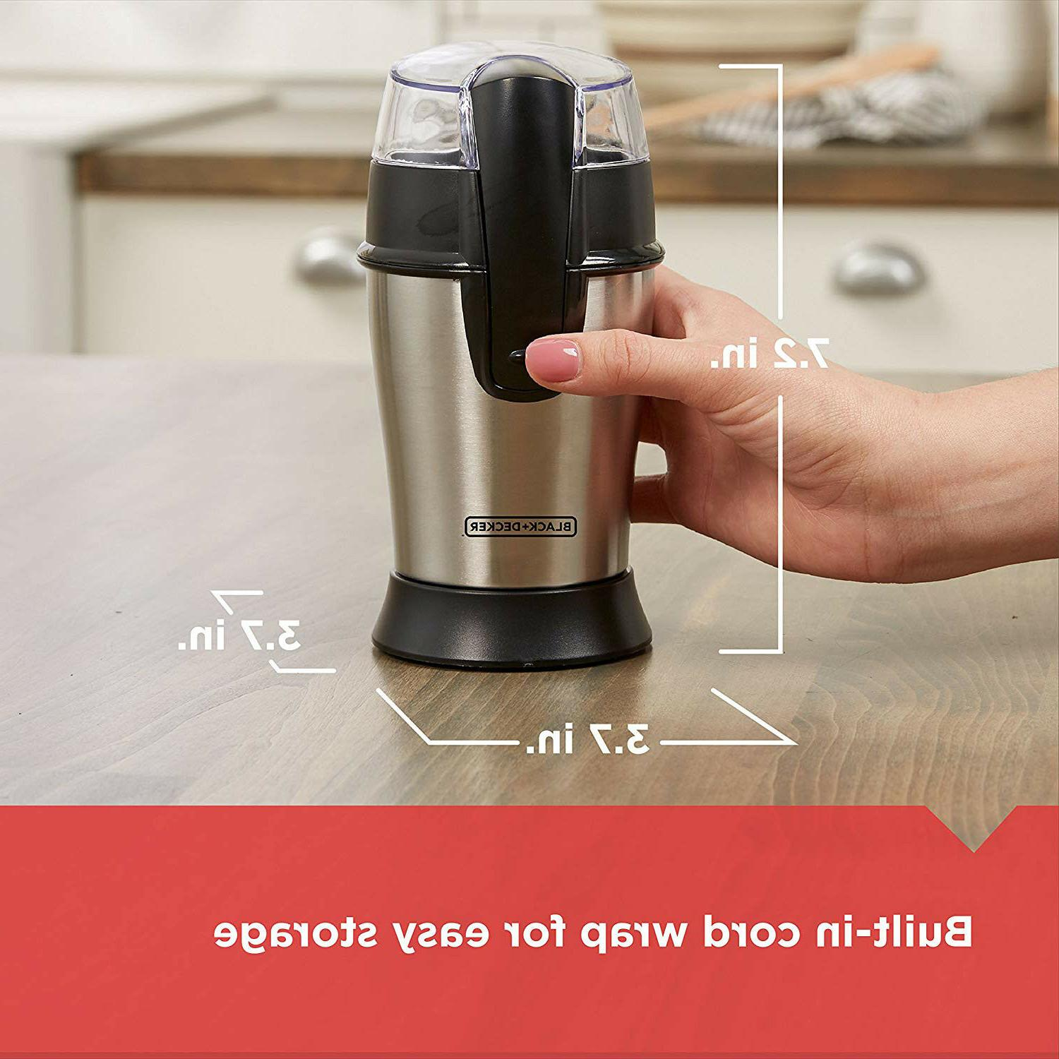 Electric Herb Coffee Grinder Stainless Blades Nuts Machine Bean