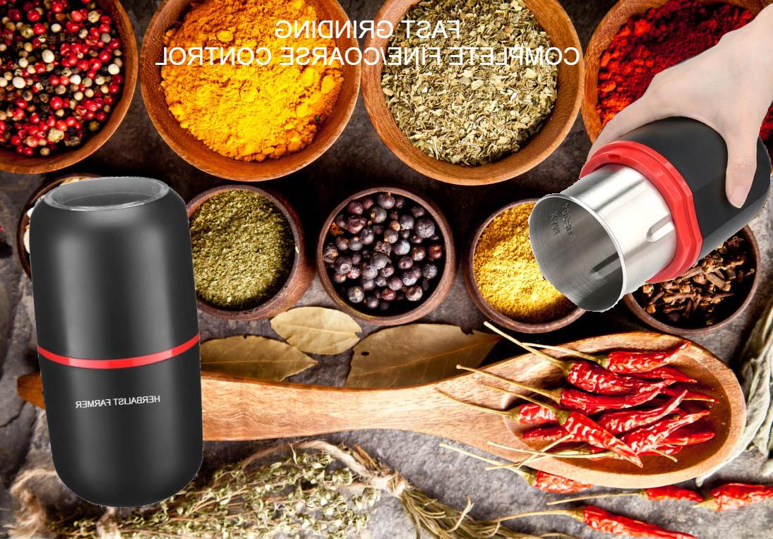 Electric spice grinder with Steel