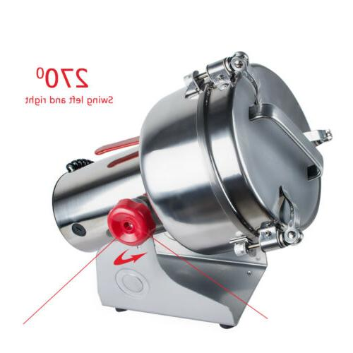 Grains Pulverizer Cereals Coffee Grinding Mills 1kg/time
