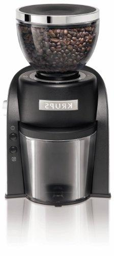 KRUPS GX6000 Burr Coffee Grinder with Grind Size and Cup Sel