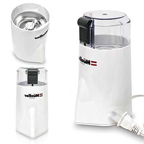 Mueller HyperGrind Coffee Mill with Large Grinding Capacity HD also Spices, Nuts,