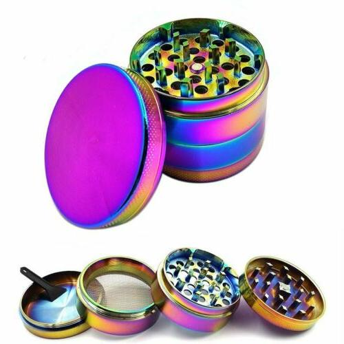 large stainless spice tobacco herb weed grinder