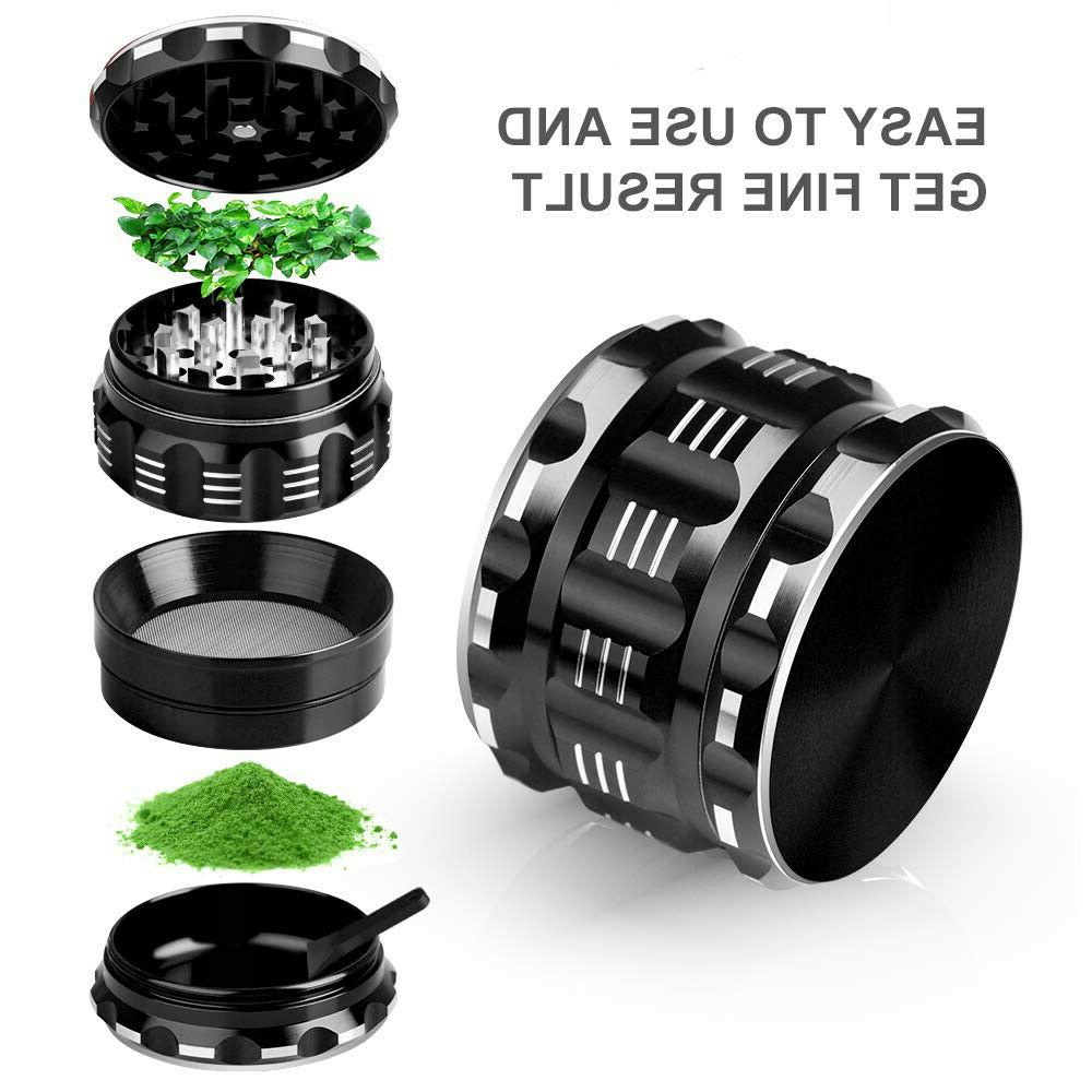 Metal Crusher 2.5 Inch Tobacco Spice Herb Grinder US