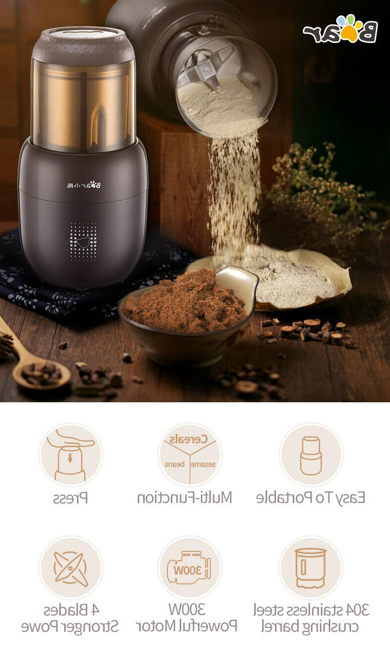 Bear Kitchen Electric Chopper Home Spices Grinder