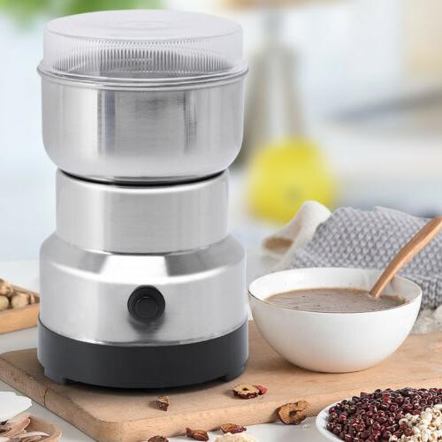 Portable Electric Coffee Bean Grind Spice Crusher
