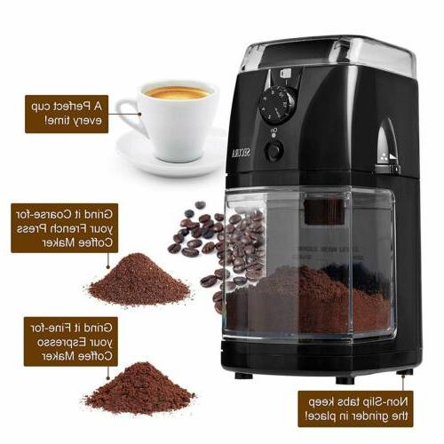 Secura SCG-903B Burr Coffee Mill 2 Warranty