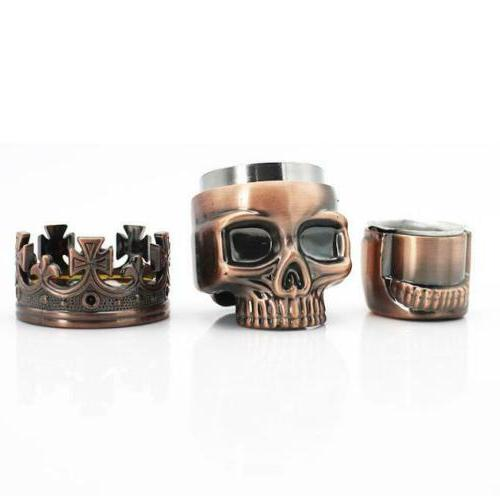 Skull Tobacco Spice Metal Chromium Smoking