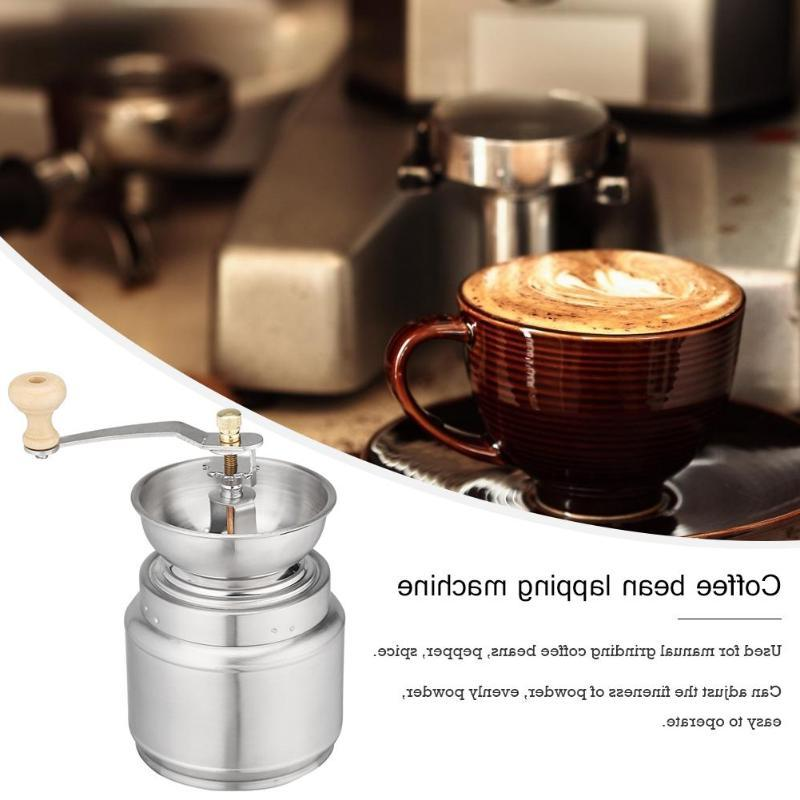 Portable Stainless Steel Hand Manual <font><b>Coffee</b></fo