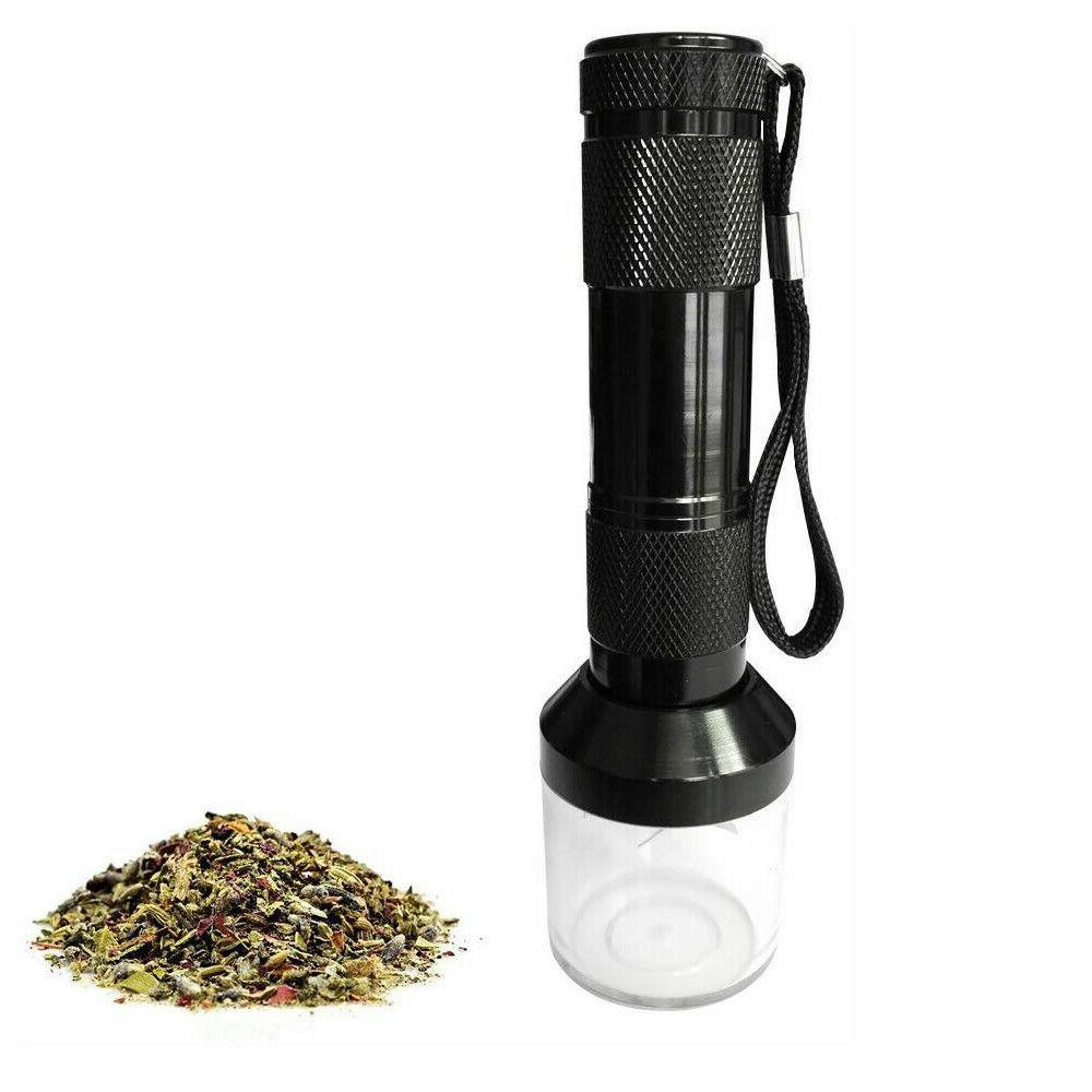 us aluminum electric tobacco grinder crusher herb