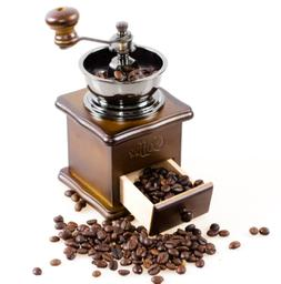 Manual Coffee Bean Spice Herbs Vintage Retro Hand Grinder Wo