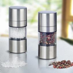 Manual Pepper Mill Salt Pepper Mill <font><b>Grinder</b></fo