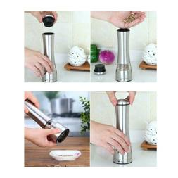 Manual Spice Pepper Mill Grinder Picnic Home BBQ Kitchen Too