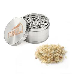 Metal Tobacco Herb Spice Grinder 4 Piece Herbal Smoke Crushe
