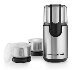 New KitchenAid Blade Coffee and Spice Grinder Kit With Stain