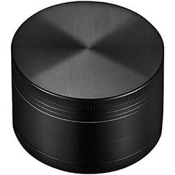 "OMorc 2"" Spice Herb Grinder 4 Piece Set-Black Kitchen Dining"